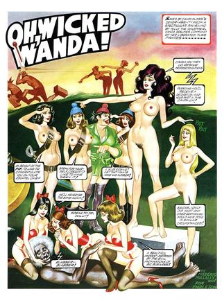 Oh Wicked Wanda 12 by Ron Embleton, Frederic Mullally