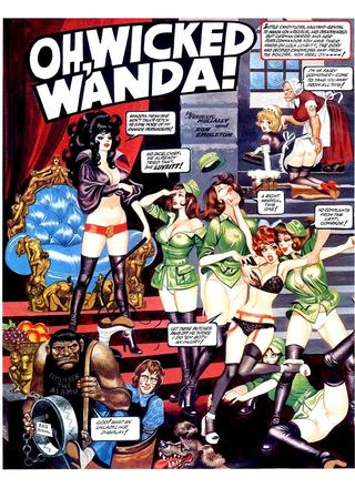 Oh Wicked Wanda 26 by Ron Embleton, Frederic Mullally