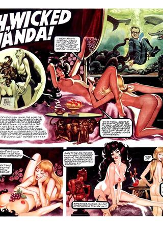 Oh Wicked Wanda 17 by Ron Embleton, Frederic Mullally