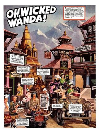 Oh Wicked Wanda 28 by Ron Embleton, Frederic Mullally