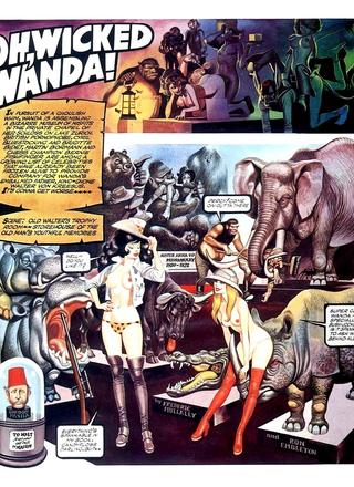 Oh Wicked Wanda 20 by Ron Embleton, Frederic Mullally