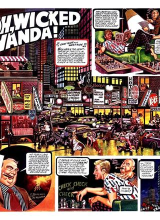 Oh Wicked Wanda 18 by Ron Embleton, Frederic Mullally
