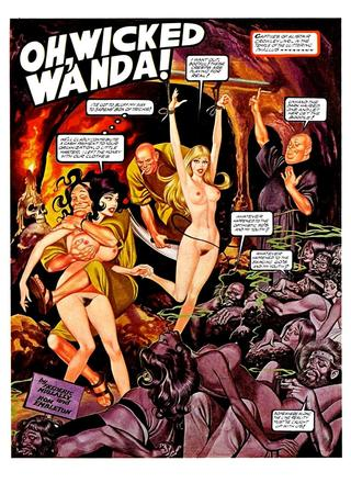 Oh Wicked Wanda 34 by Ron Embleton, Frederic Mullally