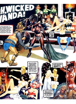 Oh Wicked Wanda 24 by Ron Embleton, Frederic Mullally