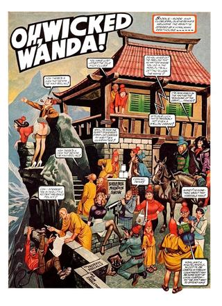 Oh Wicked Wanda 32 by Ron Embleton, Frederic Mullally