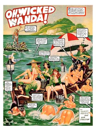 Oh Wicked Wanda 40 by Ron Embleton, Frederic Mullally