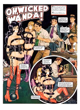 Oh Wicked Wanda 35 by Ron Embleton, Frederic Mullally