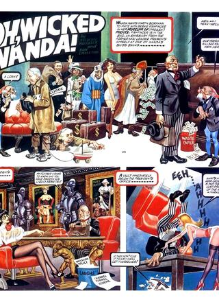 Oh Wicked Wanda 19 by Ron Embleton, Frederic Mullally