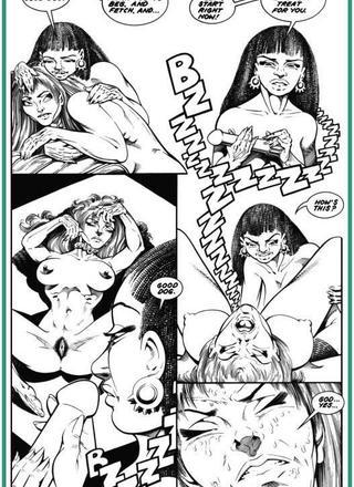 Bondage Girls at Wars 4 by Ron Wilber