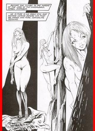 Hells Mistress 1 by Ron Wilber