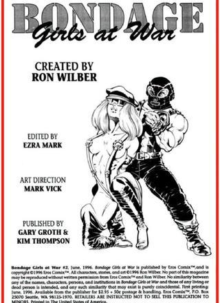Bondage Girls At Wars 2 by Ron Wilber