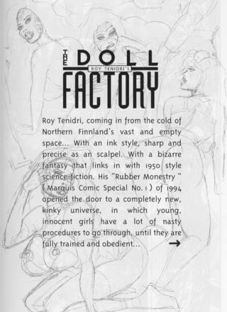 Doll Factory by Roy Tenidri