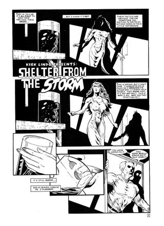 Shelter from the Storm by Tom Piccirilli, Juan Pineda