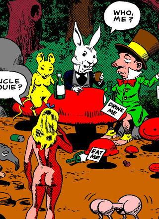 Malice in Wonderland 1 by Wallace Wood