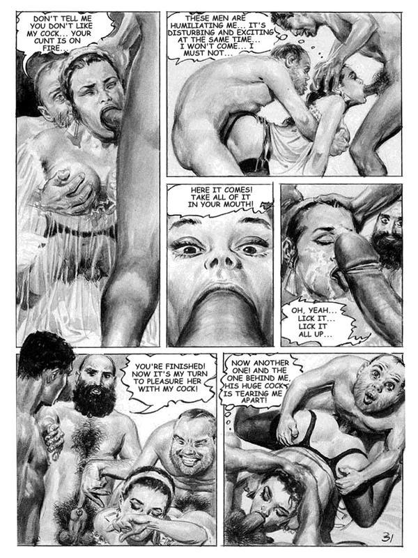 Çizgi Roman Porno Oku  Ensonhikayeler
