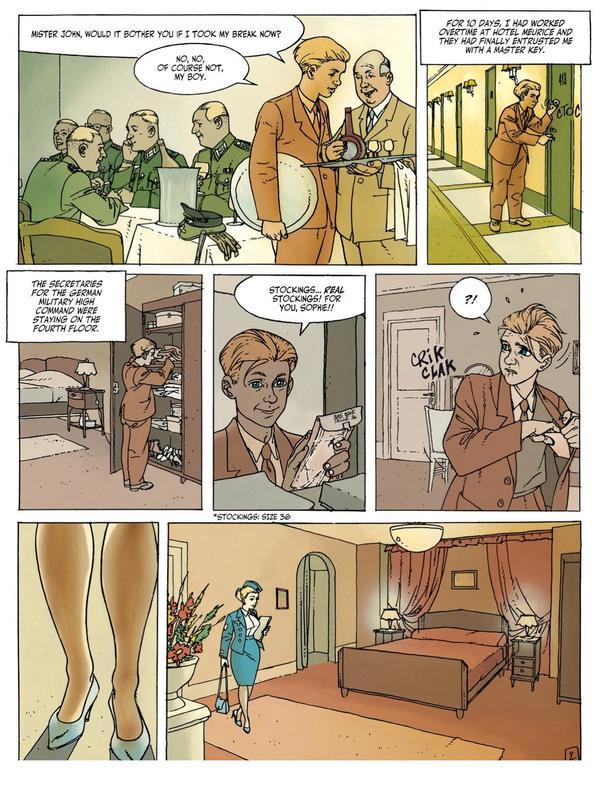 Sex comics german Vintage cartoons