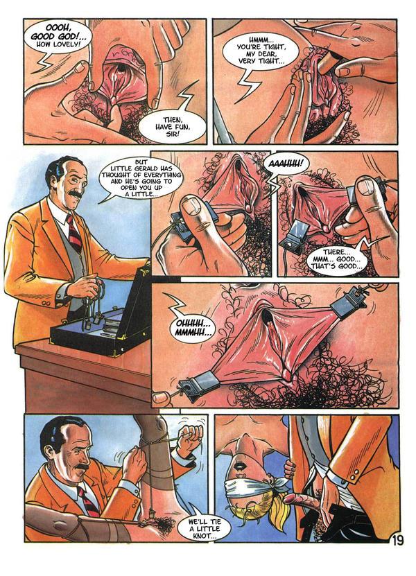 Cruel Sex Comic