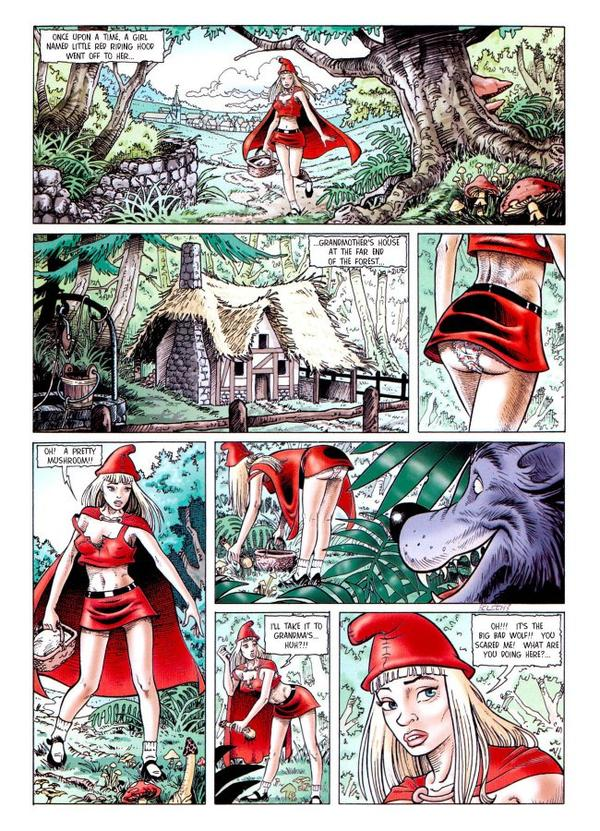 Red hood fucked by bad wolf comic join