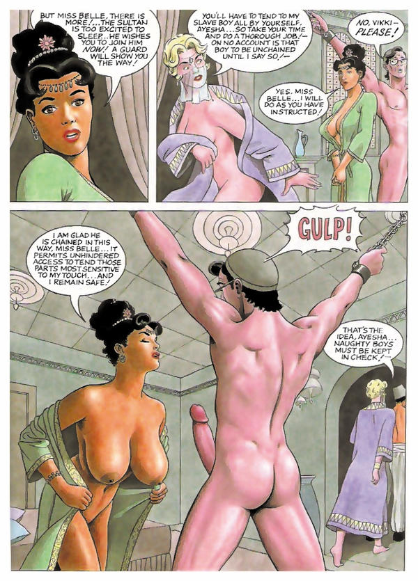 Porn Belle comic