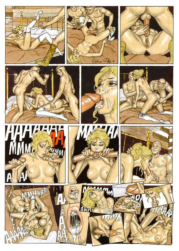 Strange sex story