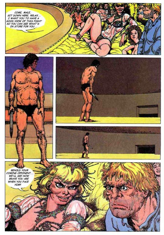 space comic pornó