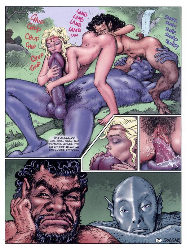 comic monster porn old man dick pic