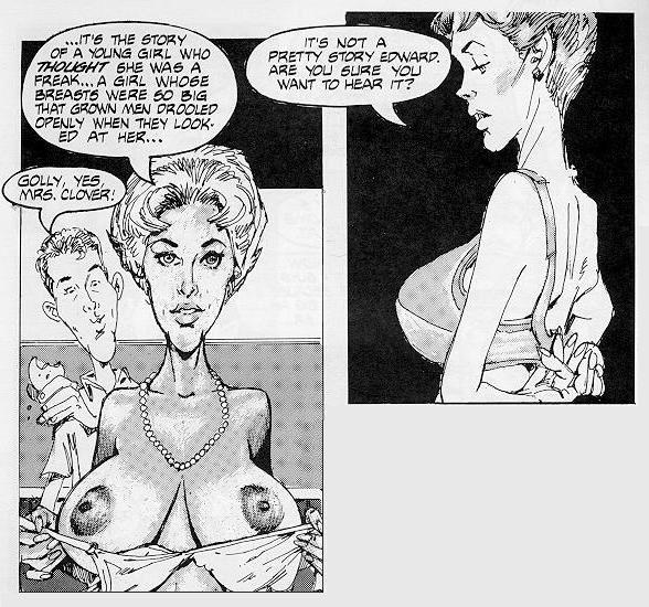 Sexy June Cleaver Porn - Inside Mrs Clover by Gonzales   Zizki - Sex and porn comics ...