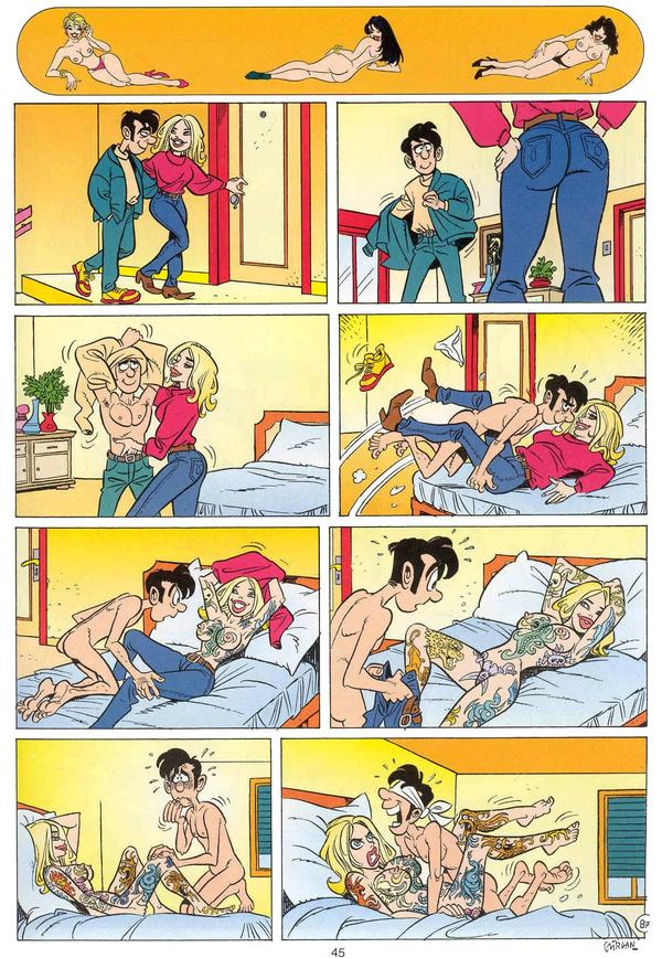 cartoon comic strips porn