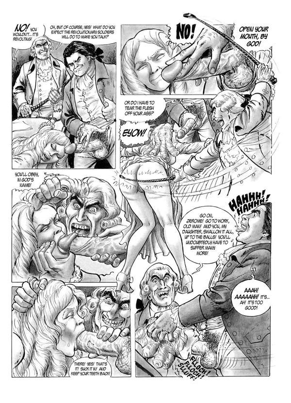 Порно комикс diane de grand lieu
