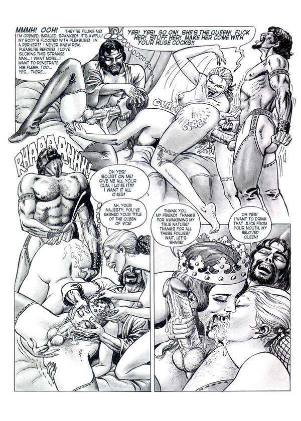 Adult porn comics