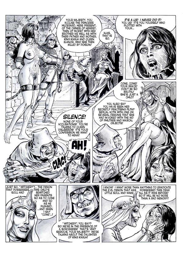 Brutal porn comics