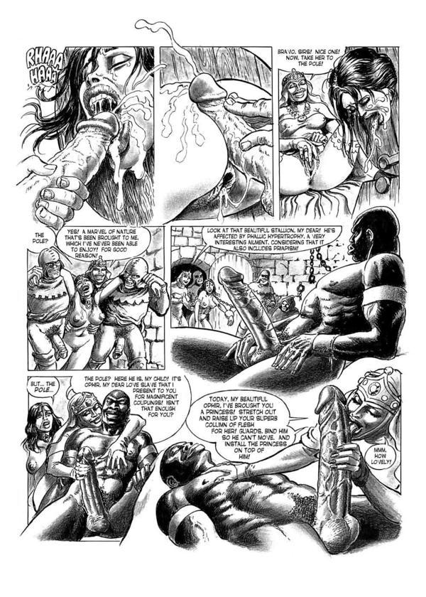 Erotic comic helga