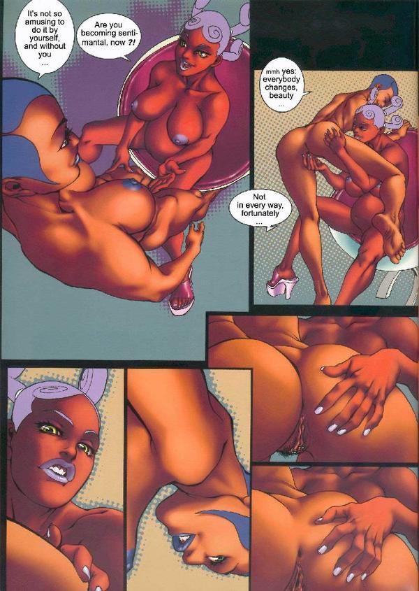 Ebony sex comics