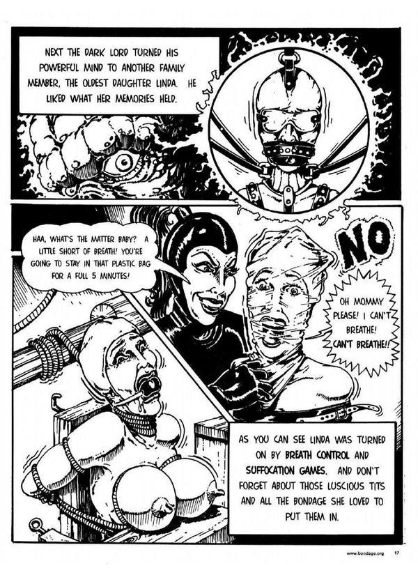 Remarkable, very lee bondage comics touching