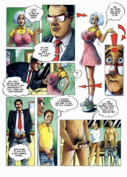 Nastasia erotic comics