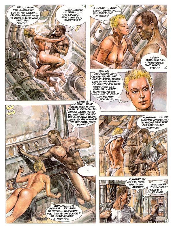 Sci Fi fumetti porno sexy paese ragazza porno