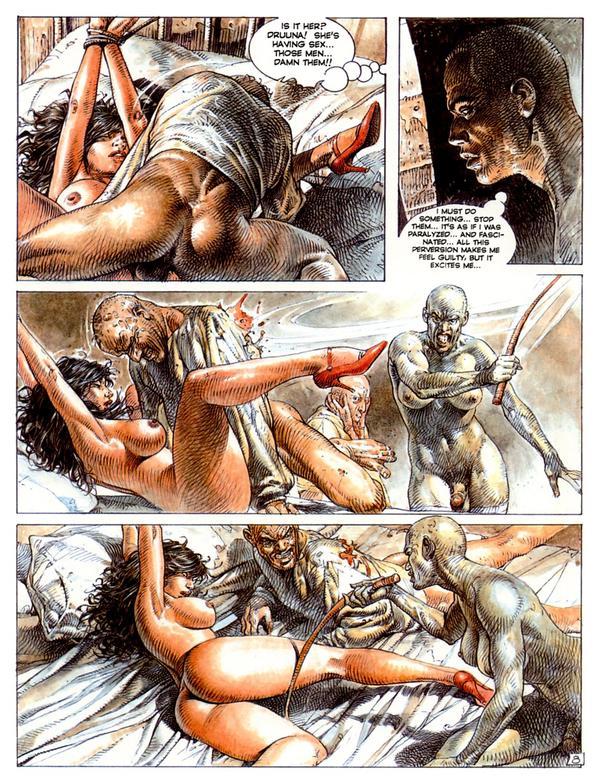 Секс комикс друуна