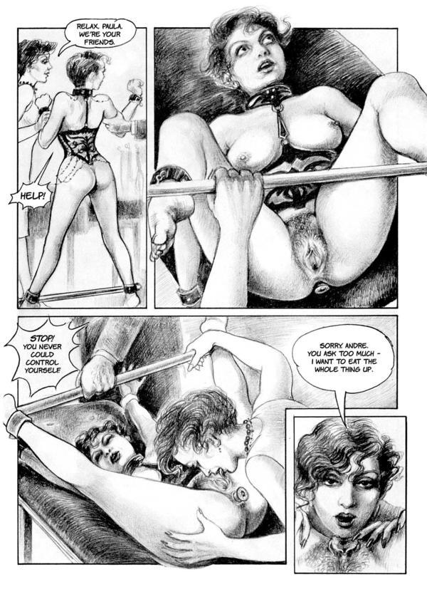 Порно комикс бдсм лесби