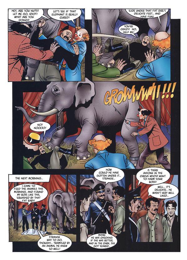 Animal Porn Comics - The Circus by Roberta Morucci