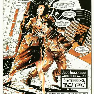 Jude Jusko and the Cobble Hill Gang 1 by Adam Dekraker, Mike Brisbois