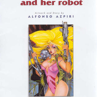Lorna and Her Robot by Alfonso Azpiri