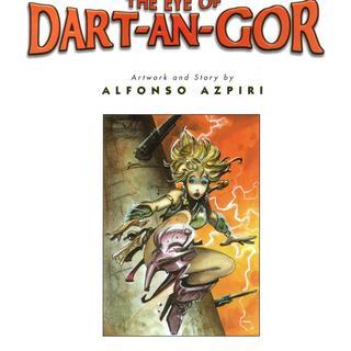 The Eye of Dart-An-Gor by Alfonso Azpiri