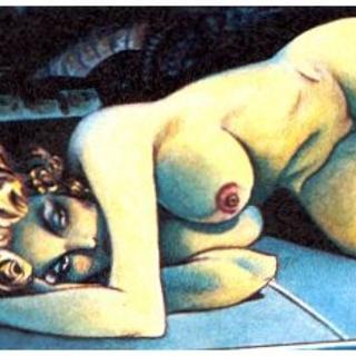 Beth Steele Blue Chip by Alfonso Azpiri