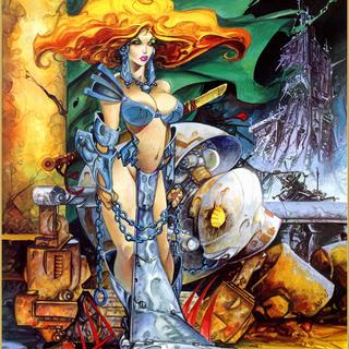 Various artwork by Alfonso Azpiri