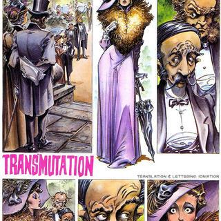 Transmutation by Alfonso Azpiri