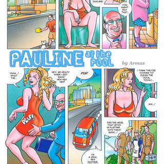 Pauline at the Pool by Armas
