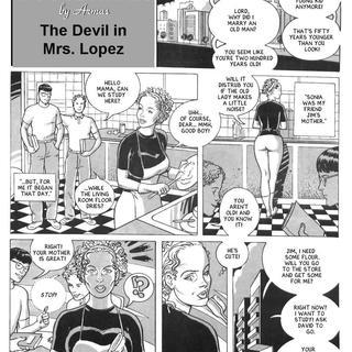The Devil in Mrs Lopez by Armas