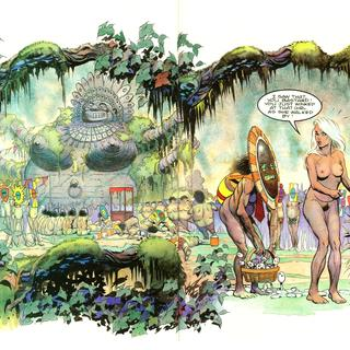 Libby in the Lost World 5 by Arthur Suydam