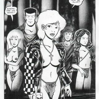 Beware the Vampyres Kiss 3 by Barry Blair