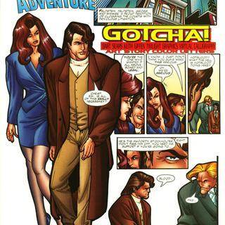 Young Captain Adventure Gotcha by Bart Sears, Keith Fiffen